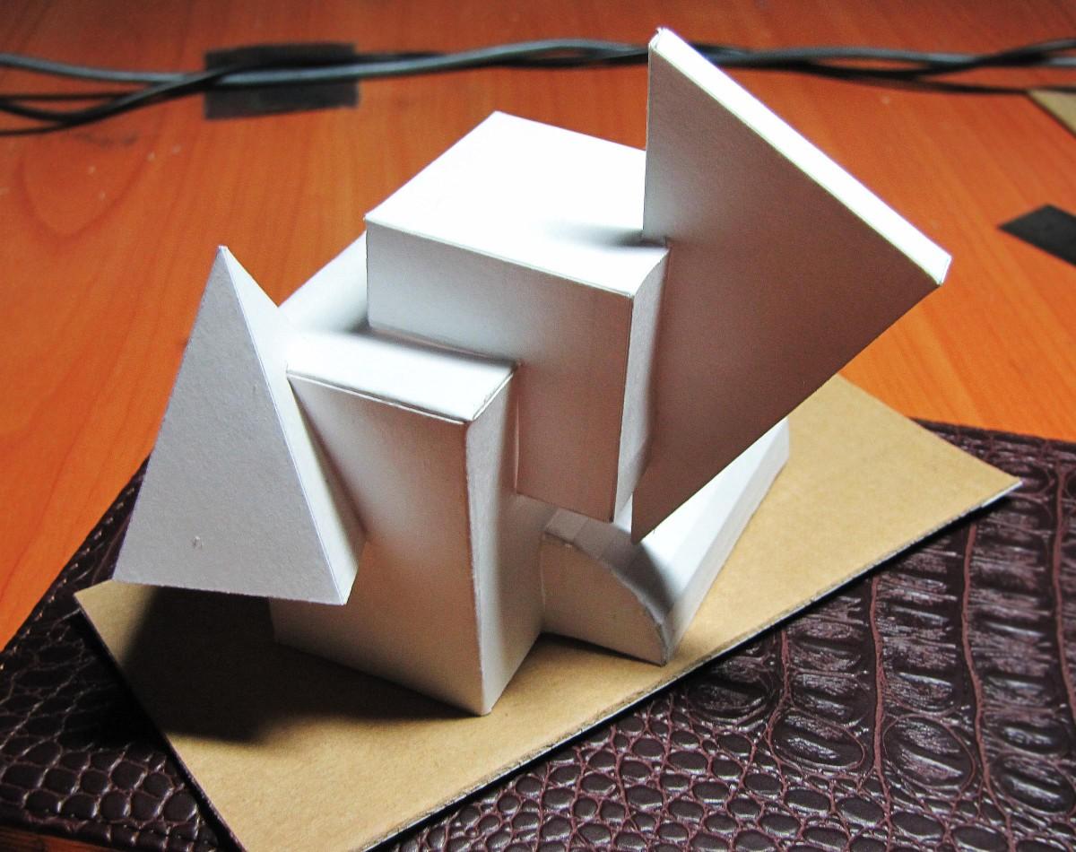 Как сделать из трехмерную
